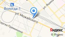 МЕГА-ВОЛЬТ на карте