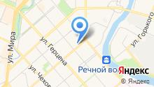 Анлита на карте