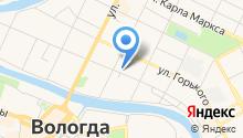 Аларм-Вологда на карте