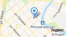 1 отряд ФПС по Вологодской области, ФГКУ на карте