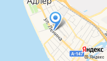 ADLER-CITY недвижимость на карте