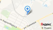 Автобусы Вологды на карте