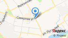 Банк Вологжанин, ЗАО на карте