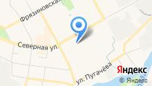 Антей на карте