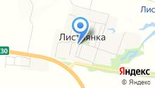 Лесок, продуктовый магазин на карте