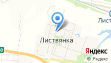 Листвянский детский сад на карте
