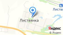 Листвянская средняя образовательная школа на карте