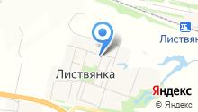 Листвянская амбулатория на карте