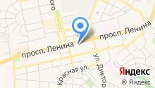 Янтарная кружка на карте