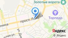 Нотариус Косолапова Т.Ю. на карте