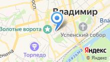 Управление Министерства юстиции РФ по Владимирской области на карте