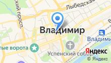 Администрация Владимирской области на карте
