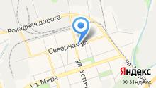 Павловская курочка на карте