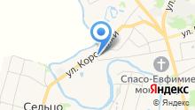 Церковь Воздвиженья Креста Господня на карте