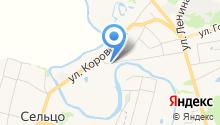 Спасская горка на карте