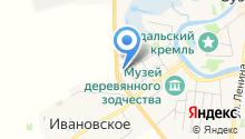 Архангельских на карте