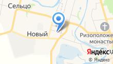 Вишенка на карте