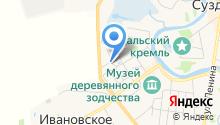 Веры Федоровны на карте