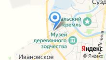 Павловское подворье на карте