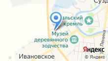Дом Чуракиных на карте