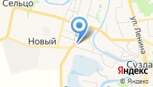 Алексеевская усадьба на карте