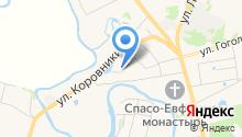 Поповых на карте