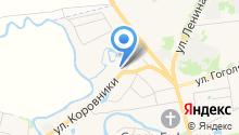 Щурово городище на карте