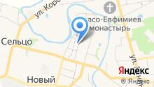 Алексеевский дом на карте