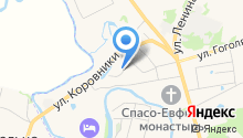 Костин на карте