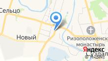 Гостевой дом на Покровской на карте