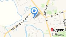 Добролюбово на карте