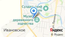 Дом торговцев Семеновых на карте