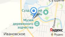 Борисоглебская церковь на карте