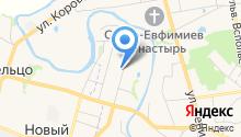Дом у монастыря на карте