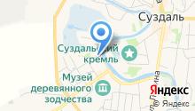 Река времени на карте
