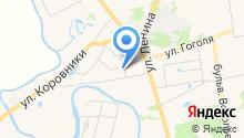 На Спасской на карте
