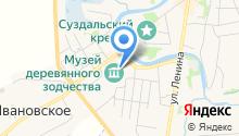 Дом зажиточного крестьянина Кузовкина на карте