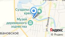 Дом дворянина Воронина на карте