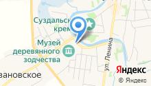 Дом священника Светозарова на карте