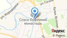 На яру на карте