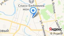 Вознесенская церковь с колокольней на карте