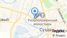 Часовня на Слободской на карте