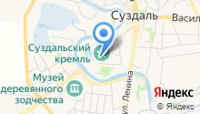 Государственный Владимиро-Суздальский музей-заповедник на карте