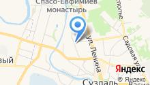 Александровские Усадьбы на карте