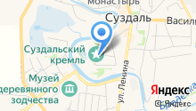 Трапезная в Архиерейских палатах Суздальского Кремля на карте