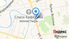Русский сувенир на карте