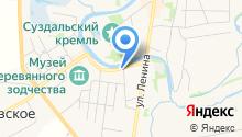 Панорама Кремля на карте