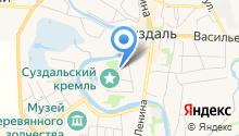 На Кремлевской на карте