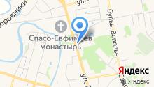 Best Western Art Hotel Николаевский посад на карте