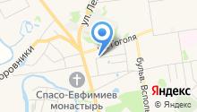 Гостевой дом У Галины на карте